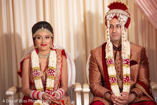 indian groom,garland,maharani,lengha