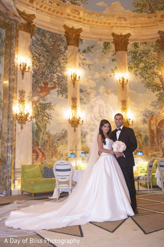 Stunning venue hosting the Indian wedding