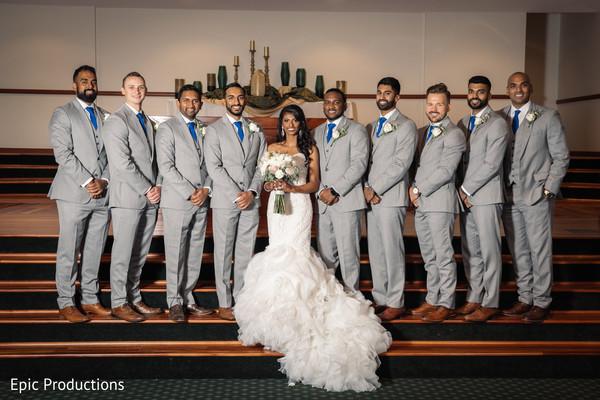 indian groomsmen,indian christian wedding ceremony,indian bride