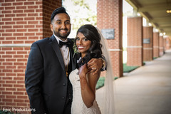 Enchanting outdoor Indian  wedding photo shoot.