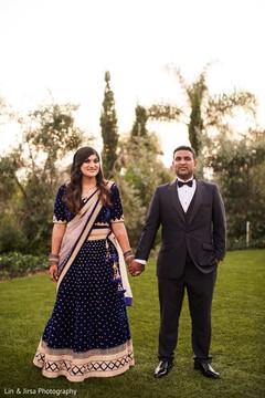 Romantic indian couple photo.