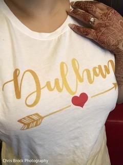 Maharanis personalized t shirt capture.
