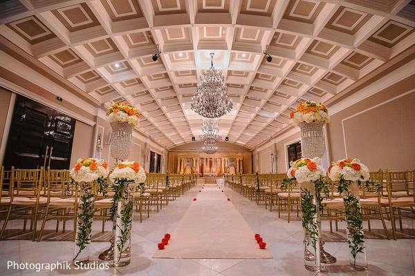 indian wedding,venue,details,floral