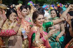 Marvelous baraat womens dance.