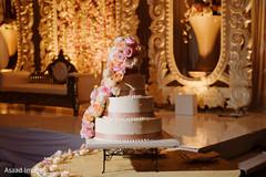 Marvelous Indian wedding cake.
