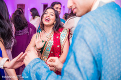 Indian guests having a great time during the reception