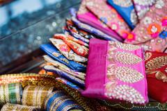 Indian Sangeet coin purse favors.