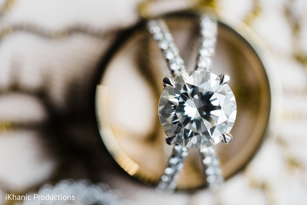 Magnificent Diamond on Maharanis ring.