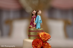 Marvelous Indian wedding cake topper.