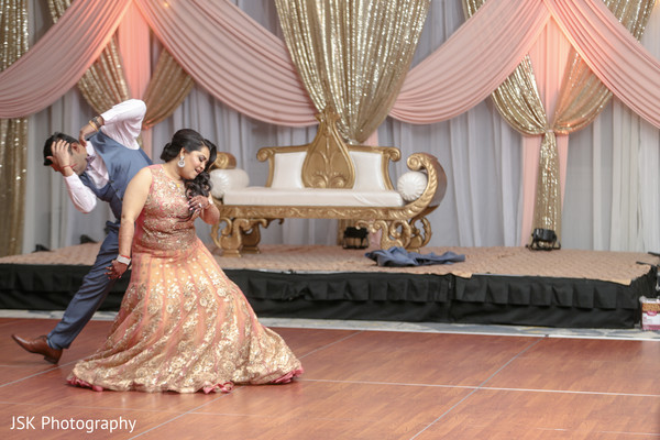 indian wedding reception,indian bride,indian groom,reception dance