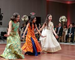 Incredible Indian wedding dance performance.