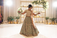 Beautiful Maharani wearing the lengha