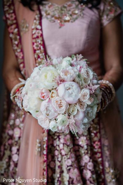 Floral arrangement details of the Maharani