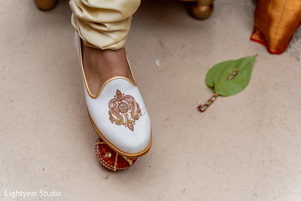 Moment of the Indian wedding rituals