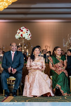 See this Indian family during the reception