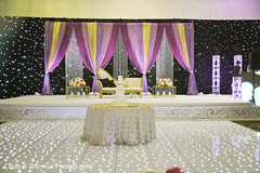 Incredible Indian wedding lights decoration capture.