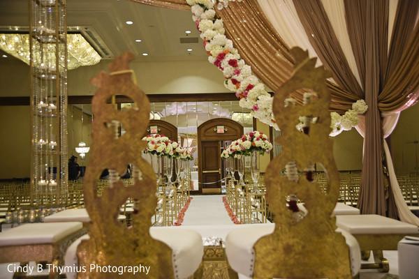 Wonderful Indian wedding ceremony draping.