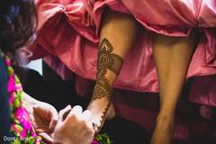 Incredible Indian bridal feet henna art.