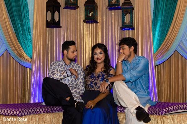 maharani,sangeet decor,mandap,indian groomsmen