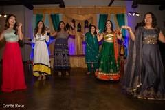 Magnificent Indian bridesmaids sangeet dance.