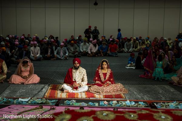Stunning Indian Sikhism ceremony photography.