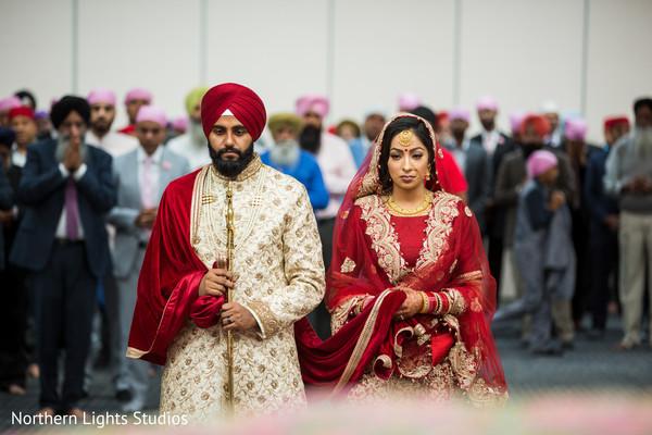 Maharani and Rajah wedding ceremony capture.