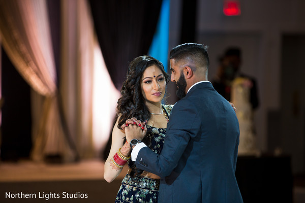 Indian lovebirds having their first dance.