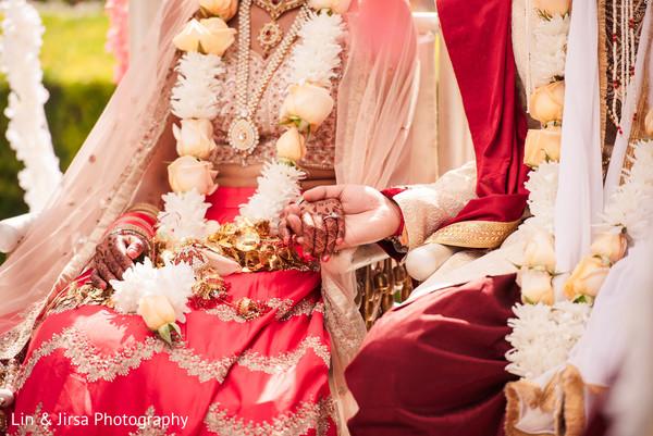Tender moment between the Maharani and Raja
