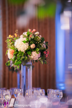 Floral arrangement design details for Maharani