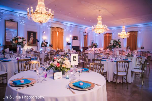 indian wedding,decor,table,venue