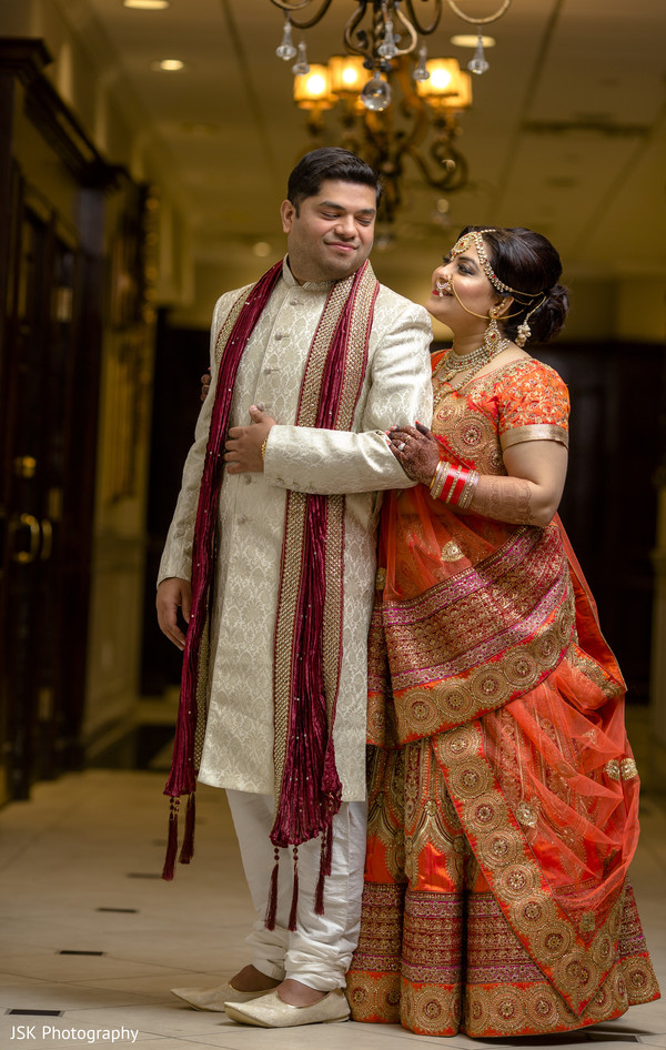 indian bride,indian groom,indian wedding first look