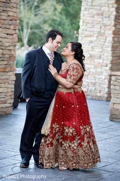Indian couple's romantic photo shoot