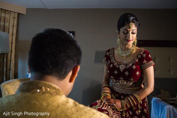 Maharani during the pre wedding photo shoot