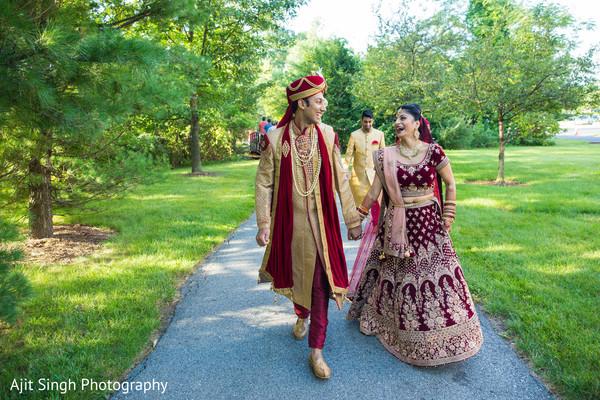 See this beautiful Maharani with Raja at the park