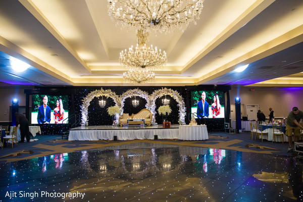 reception,venue,indian wedding,decor
