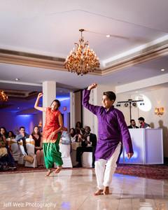 Incredible Indian wedding reception choreography.