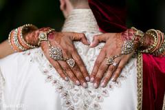 Beautiful capture of Maharani's mehndi and jewelry