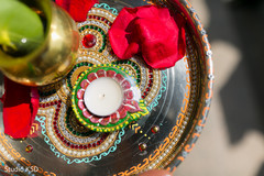 Indian wedding ornament details