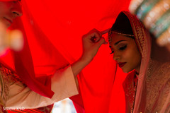Unique Indian wedding ceremony.