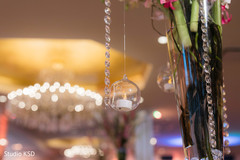 See this amazing decor details for the Indian wedding reception