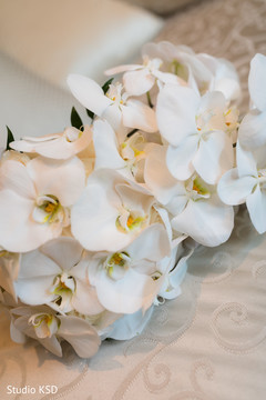 Details of the floral arrangement designs
