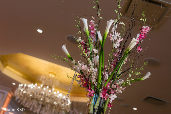 Floral arrangement details