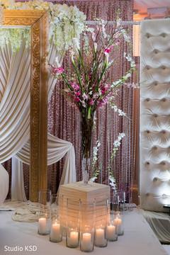 Beautiful Indian wedding floral decor