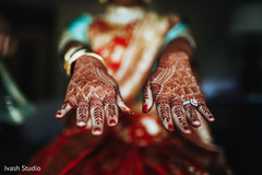 Stunning Indian bridal henna art capture.