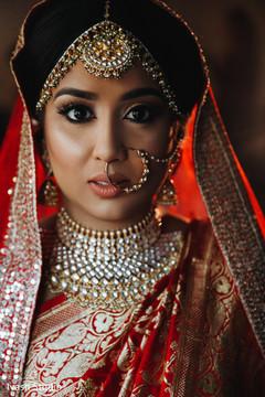 Stunning Maharani's tikka,  Nathand Polki necklace.