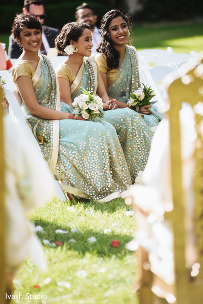 indian wedding ceremony,indian bridesmaids