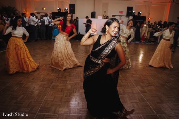 indian wedding reception fashion,reception dance