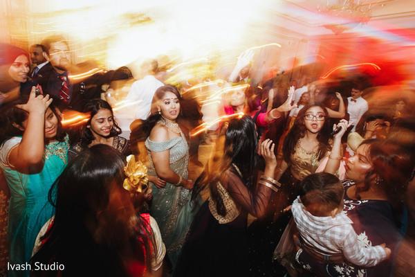 maharani,indian wedding reception dance