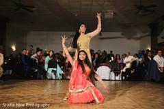 Marvelous Indian sangeet dancers.