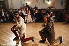 Indian Sangeet dancers capture.
